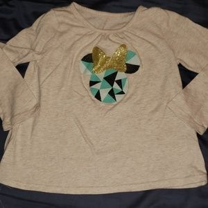 Minnie mouse long sleeve